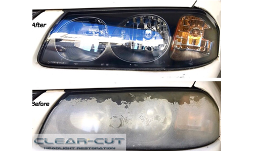 Clear Cut Headlight Restoration Mobile Service Los Angeles Ca