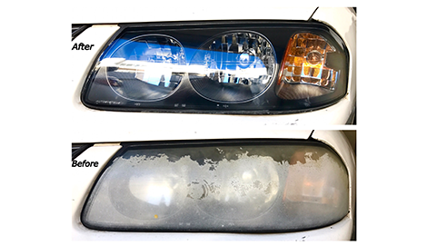 Headlight Restoration  Resurfacing | CLEAR-CUT Headlight Restoration- Mobile Service | Los Angeles, CA | (213) 454-0781